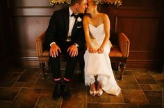 A lovely ballerina and a handsome british banker join families at this Burlington Golf & Country Club wedding, for a celebration of life and love! Country Club Wedding, Wedding Ceremony, Reception, Big Day, Floral Arrangements, Strapless Dress, White Dress, Handsome, Golf