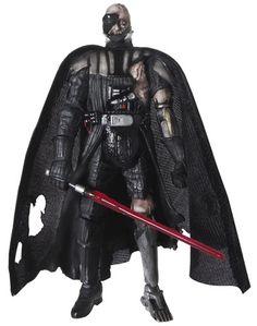 2008 Carded Darth Vader Battle Damaged (Force Unleashed) C-7/8