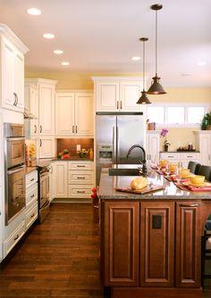 Hampton Full Kitchen 2 Modern Kitchen Cabinets, Space Kitchen, Elegant  Kitchens, Modern Kitchens
