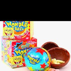 The 90's GAHH the wonderball! I almost forgot about these! I would always beg my mom to let me get one of these everytime we went to the grocery store!