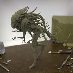 Alien Queen hybrid on Behance
