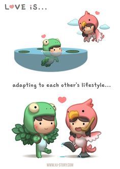 HJ-Story ~ Love is... Adapting!