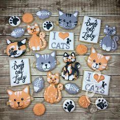 cat cookies: