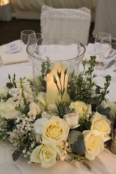Fabulous Spring Wedding of Sarah & Liam at St Michael's and The Inn at Whitewell – Wedding Centerpieces Wedding Arrangements, Wedding Table Centerpieces, Wedding Bouquets, Floral Arrangements, Floral Wedding, Diy Wedding, Wedding Flowers, Wedding Church, Trendy Wedding
