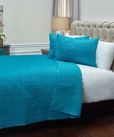 Comforters, Bedroom Ideas, Teal, Blanket, Home, Creature Comforts, Quilts, Blankets, Ad Home