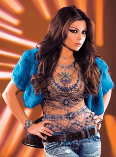 Singer, model and actress Haifa Wehbe  #beautiful #beauty #gorgeous #singer