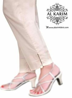 Salwar Plazzo Pants, Salwar Pants, Trouser Pants, Salwar Pattern, Modele Hijab, Churidar Designs, Neck Designs For Suits, Silk Pants, Pants For Women