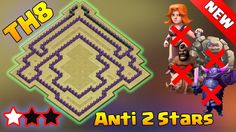 Clash of Clans - Town hall 8 (Th8) War Base 2016 - ANTi 2 Stars ANTi GoWipe ANTi Dragons ANTi GoHo. Town Hall 8 (TH8) War Base Design 2016 Anti 2 Stars Anti GoWipe Anti dragons anti goho. TH8 War base 2016. Best anti 2stars Town Hall 8 (TH8) war base.   Hey guys wel come another clash of clans town hall 8 (TH8) war base desgin 2016. This is a th8 war base anti everything so that any troops combination in clan war cannot 3stars it. This th8 war base is also anti dragon TH8 war base as the air…