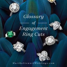 Glossary of Engagement Ring Cuts | Martha Stewart Weddings