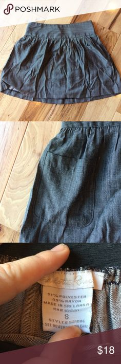 Charlotte Russe Grey Skirt Size:Small Charlotte Russe Grey Skirt Charlotte Russe Skirts