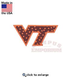 We have a wide selection of Virginia Tech Hokies decals and stickers to  choose from here at Campus Emporium! d1bb24c6e0d8