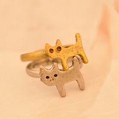 Cat Shape Ring