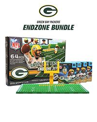 23e2d48c633 Green Bay Packers NFL Lambeau Field 3D BRXLZ Puzzle Stadium Blocks Set