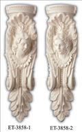 Corbel Polyurethane Decorative FDCET 3858