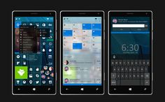 Windows 10 for mobile redesign by Moises David Perez