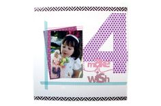 We R Memory Keepers 12x12 Washi Sheet Bundle project ideas: birthday layout