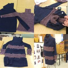 Redesign sweater+sweater