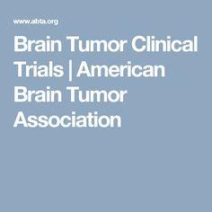 Brain Tumor Clinical Trials | American Brain Tumor Association