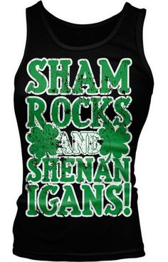 Tee Hunt Im Here for Titties /& Beer Muscle Shirt St Patricks Day Shenanigans Sleeveless