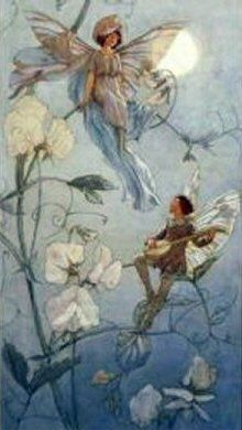 fairies_midst_sweet_peas_margaret_tarrant