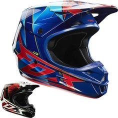 2014 Fox V1 Radeon Motocross Helmets