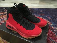968b05cbd399 Under Armour Curry 4 size 10.5 Red Rouge Black 1298306 603 Stephen Curry UA  - Curry