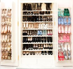 so many shoes....when would wou ever wear them all?