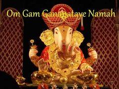▶ Om Gam Ganapataye Namah (108 times) - YouTube