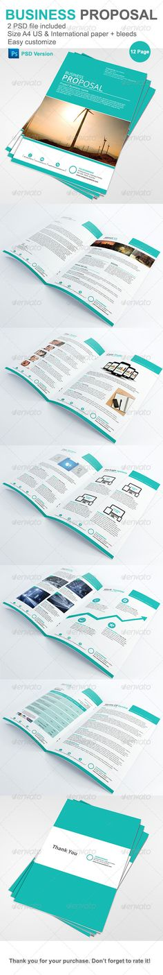 Business Proposal Business proposal, Proposals and Proposal - project proposal template free