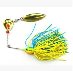 Fishing Hard Spinner Lure Spinnerbait Bass 16.3G/0.57Oz Fishing