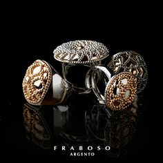 #Fraboso #silver #rings - 2014 collection