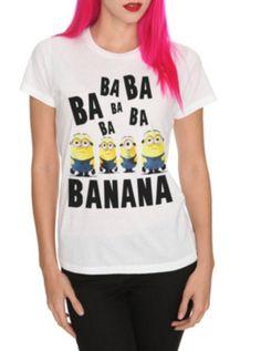 Despicable Me 2 Minion Girls T-Shirt