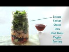 How To… Make Salad in a Jar | Hungry Girl Videos