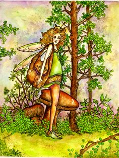 """by Memory Howell © """"Fairies of Memory"""" on Facebook."""