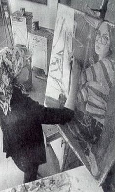 1988: a student painting | Ohio Northern University