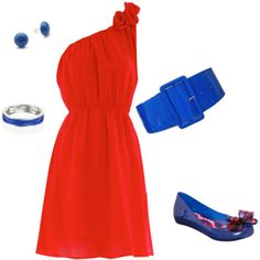 A really sweet look for Ole Miss Gamedays. How cute are those shoes?!