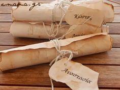 e-mama.gr | Προσκλήσεις για πειρατικό πάρτυ με την τεχνική παλαίωσης χαρτιού - e-mama.gr