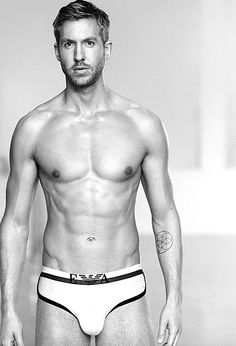 If Calvin Harris aimed to make his fans swoon with his new Emporio Armani campaign, well, mission accomplished! The world-renowned DJ and music producer, 31, was tapped by the Italian fashion house to model the Spring/Summer 2015 line of underwear in new advertising images, debuted to the world on Tuesday, Feb. 17.
