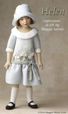 Helen -   Maggie's inspiration for Helen began with the idea of what pastel shades can do for a little girl.