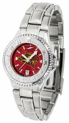 San Diego State Aztecs SDSU NCAA Womens Steel Anochrome Watch by SunTime. $86.95. Showcase the hottest design in watches today! The functional rotating bezel is color-coordinated to compliment your favorite team logo. The Competitor Steel utilizes an attractive and secure stainless steel band.The AnoChrome dial option increases the visual impact of any watch with a stunning radial reflection similar to that of the underside of a CD. Perceived value is increased with th...