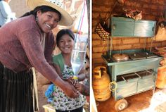 Help #mothers in #Bolivia grow their businesses and provide for their families. This bakery cart helps transport breads and cakes to the market, keeping them fresh so families can get the best price for their efforts. The cart also allows the baker to work flexible hours while still caring for the #family.