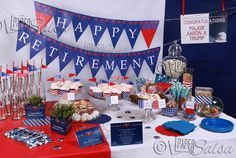 military retirement party ideas - Google Search