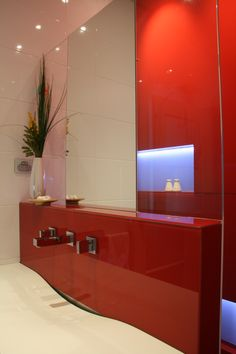 Glass Bathroom, Splashback, Custom Glass, Inspiration