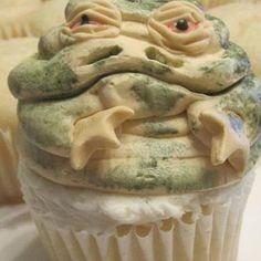 Star Wars Cupcake. @Gretchen Schaefer Schaefer Garrity