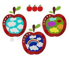 Zaubermasche - Cornelia-Simboeck-Äpfel-13x18