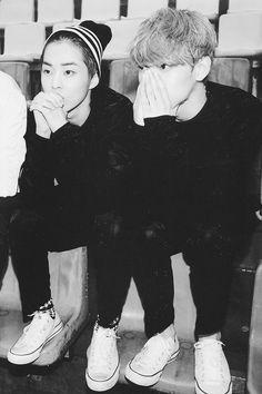Xiumin + Chen