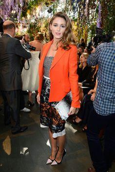 Paris Fashion Week: Olivia Palermo At Dior