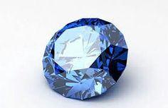 Blue Diamond, Round Cut
