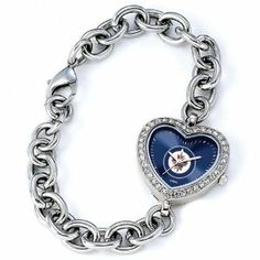 Ladies NHL Winnipeg Jets Heart Watch Jewelry Adviser Nhl Watches. $60.00