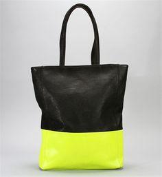 $32.90 Neon Color Block Tote